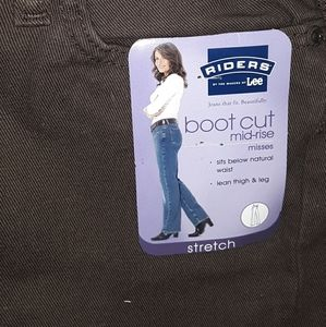 Riders by Lee Boot Cut Mid Rise Jean
